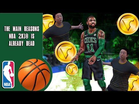 The main reasons NBA 2K18 is already dead