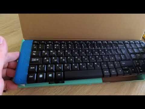 Клавиатура беспроводная Logitech K230 RUS (920-003348)