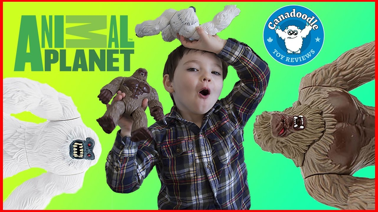 Big Foot Playset Yeti Playset Animal Planet Toys Canadoodle Toy Reviews Youtube