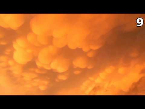 видео: Топ 10 Страшных Изображений в Небе