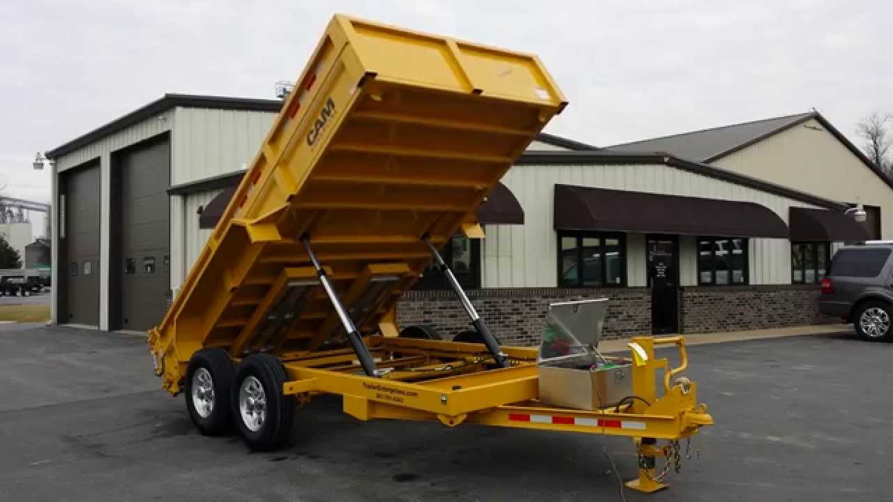 Dump Trailers For Sale Wiring Diagram A 4 Way Switch How To Wire 7 X 14 Cam Superline 14k Heavy Duty Low Profile Trailer Enterprises