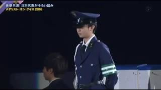 2016年メダリストオンアイス 友野一希選手のエキシビションです。MOI.