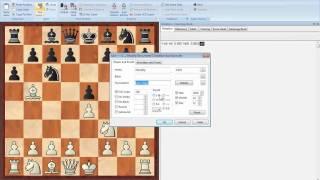 ChessBase 11 Saving games