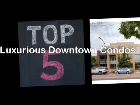 Downtown Boulder Luxury Condos For Sale