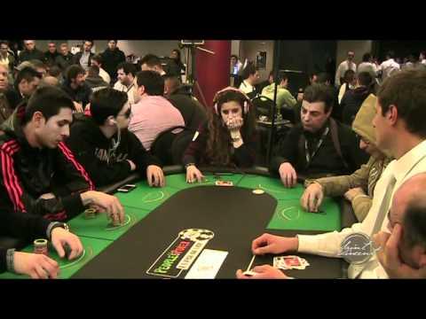 Giorgia Tabet in un'ottima giocata al Casino de la Vallée | Saint-Vincent