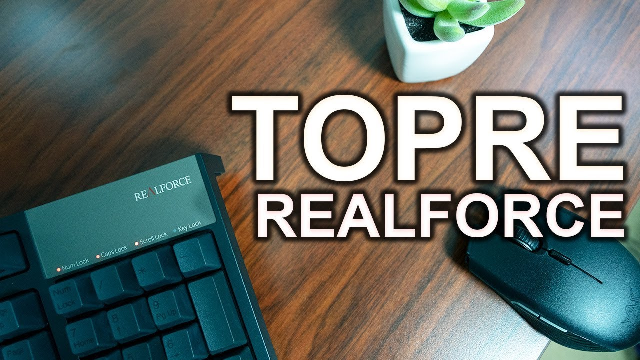 16d478ad290 Topre Realforce R2 Keyboard Review - YouTube