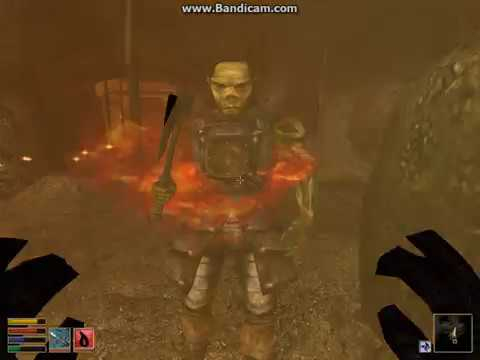 Let's Play Morrowind #6 Gnisis Eggmine Search For Dwemer Ruin