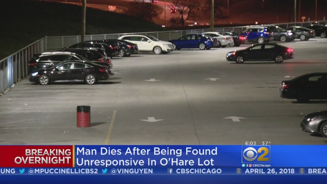 Man Found Dead In O Hare Parking Lot Youtube