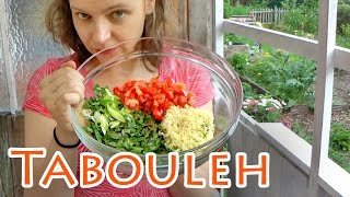 Tabouleh + Couscous-salat-rezept Mit Petersilie ++ The Krauts