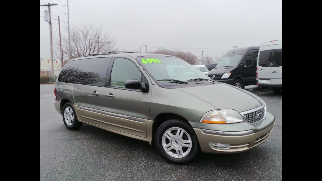 2001 ford windstar sel 12680p
