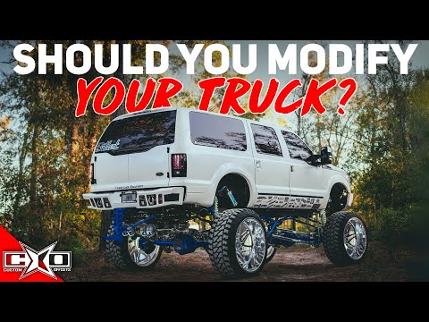 Should You Modify Your Truck?