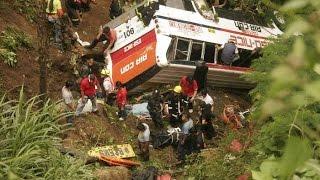 Жесть! Боливия. Дорога смерти. Автобус падает с 200 метрового обрыва. Мировые новости сегодня(Жесть! Боливия. Дорога смерти. Автобус падает с 200 метрового обрыва. Мировые новости сегодня Подписывайтесь..., 2015-07-14T10:57:45.000Z)