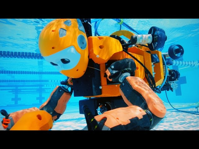 stanford s humanoid diving robot takes on undersea archaeology and