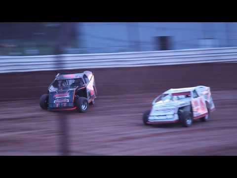 1/2 ABC Raceway  5/13/17 Jeff Spacek Modified Heat Race
