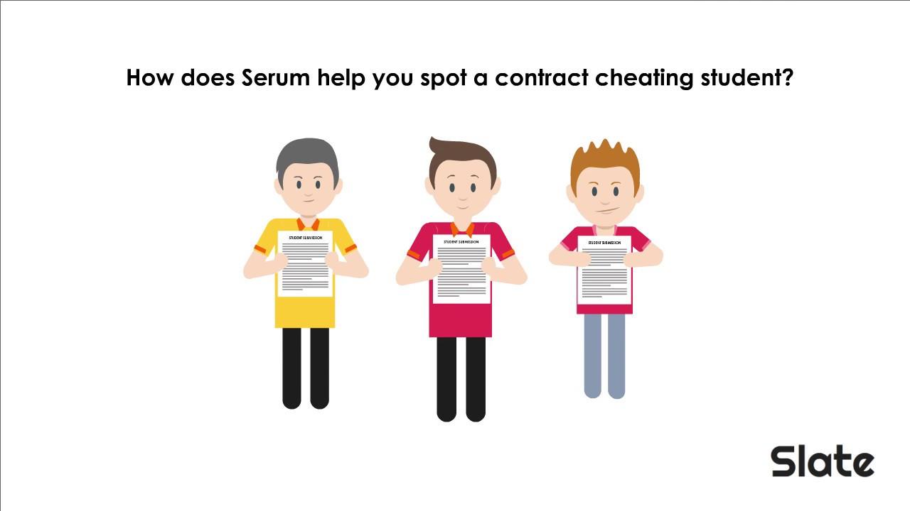 Serum: Cheating detection - Bett Show 2020, 22 - 25 January