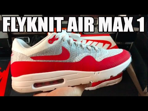 sale retailer b904e d312f NIKE AIR MAX 1 ULTRA FLYKNIT REVIEW