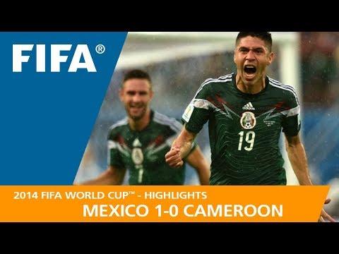 MEXICO v CAMEROON (1:0)  -  2014 FIFA World Cup™
