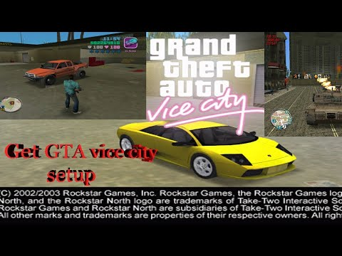 How to download and install gta vice city deluxe mod in you pc/laptop.(easiest way).