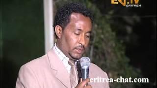 Eritrean Dehay Adi Memhir Atzbaha Ghebreab Introducing His Book