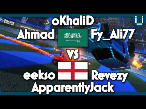 Saudi Arabia vs England   Team 1v1   ft. oKhaliD, ApparentlyJack, Ahmad, eekso, Fy_Ali77 & Revezy