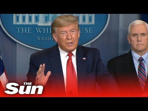 Donald Trump Blames China For COVID-19 Crisis In Fiery Press Conference
