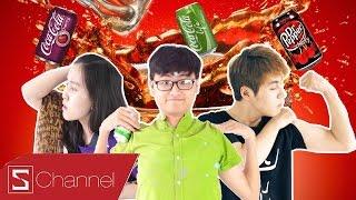 HÔM NAY ĂN GÌ - Lần đầu thử các loại Coca Cola lạ: Coca Life, Coca Cherry, Coca Nhật Bản...