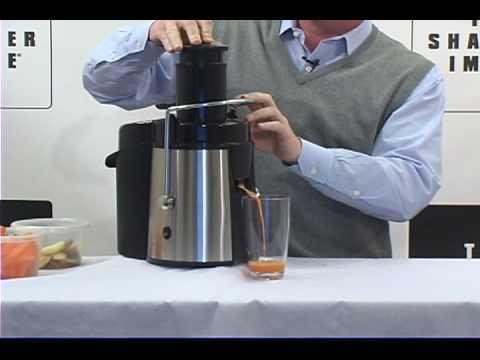 sharper image super juicer product overview youtube rh youtube com