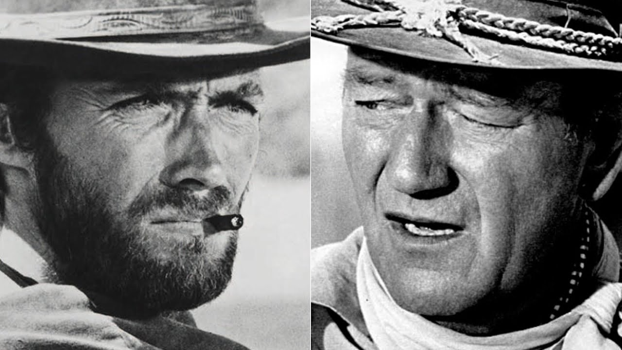 Download The Truth About John Wayne And Clint Eastwood's Relationship