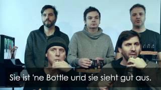 GlasBlasSing Quintett: The Bottle