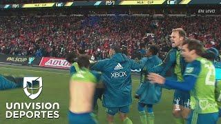 Todos los penales con los que Seattle Sounders se coronó campeón de la MLS