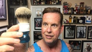 YaQi Silvertip Badger & Double Open Comb Razor. 1st use and opinion.