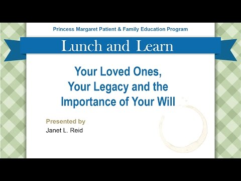The Importance of Your Will | Presented by Janet L. Reid