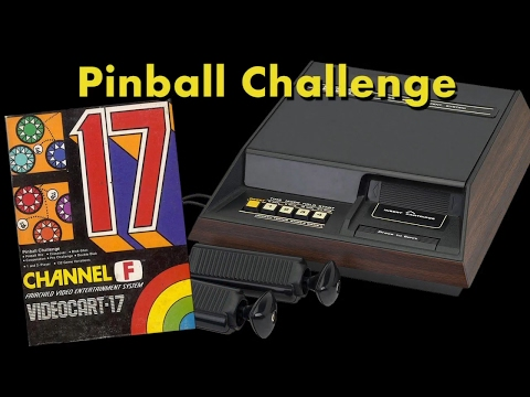 VC 17 - Pinball Challenge - (1977) - Channel F - gameplay HD