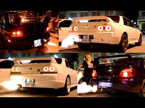 EPIC!! FLAMES from exhaust, revs, limiters and more!