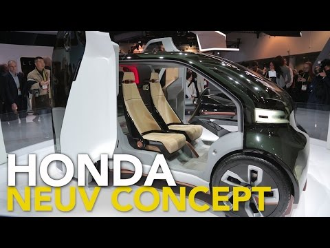 Honda NeuV Concept: 2017 Consumer Electronics Show