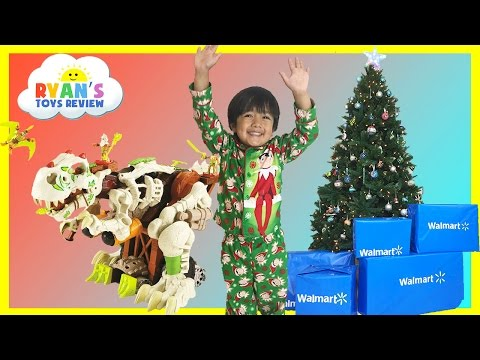 Thumbnail: SURPRISE TOYS OPENING CHRISTMAS PRESENTS WALMART Top Toys Chosen by Kids Ryan ToysReview