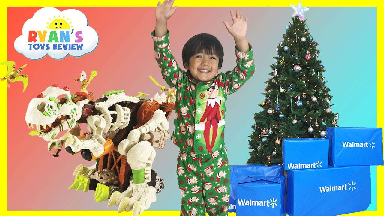 SURPRISE TOYS OPENING CHRISTMAS PRESENTS WALMART Top Toys Chosen ...