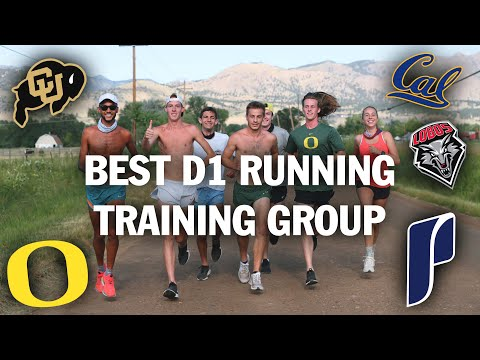 Best D1 Runners Training Together