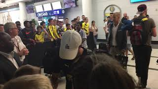 Christian Pulisic Signs Autographs in Chicago
