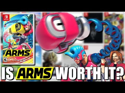 Is ARMS For Nintendo Switch Worth Buying? Let's Go Find Out!
