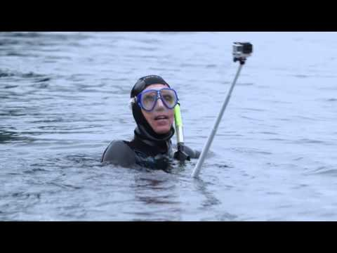 Mark Powell swims length of Duwamish River