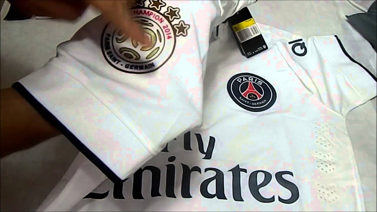 Unboxing do Bob  7 Camisa do PSG Away 14 15 ( aliexpress) - YouTube aca22795f62d7