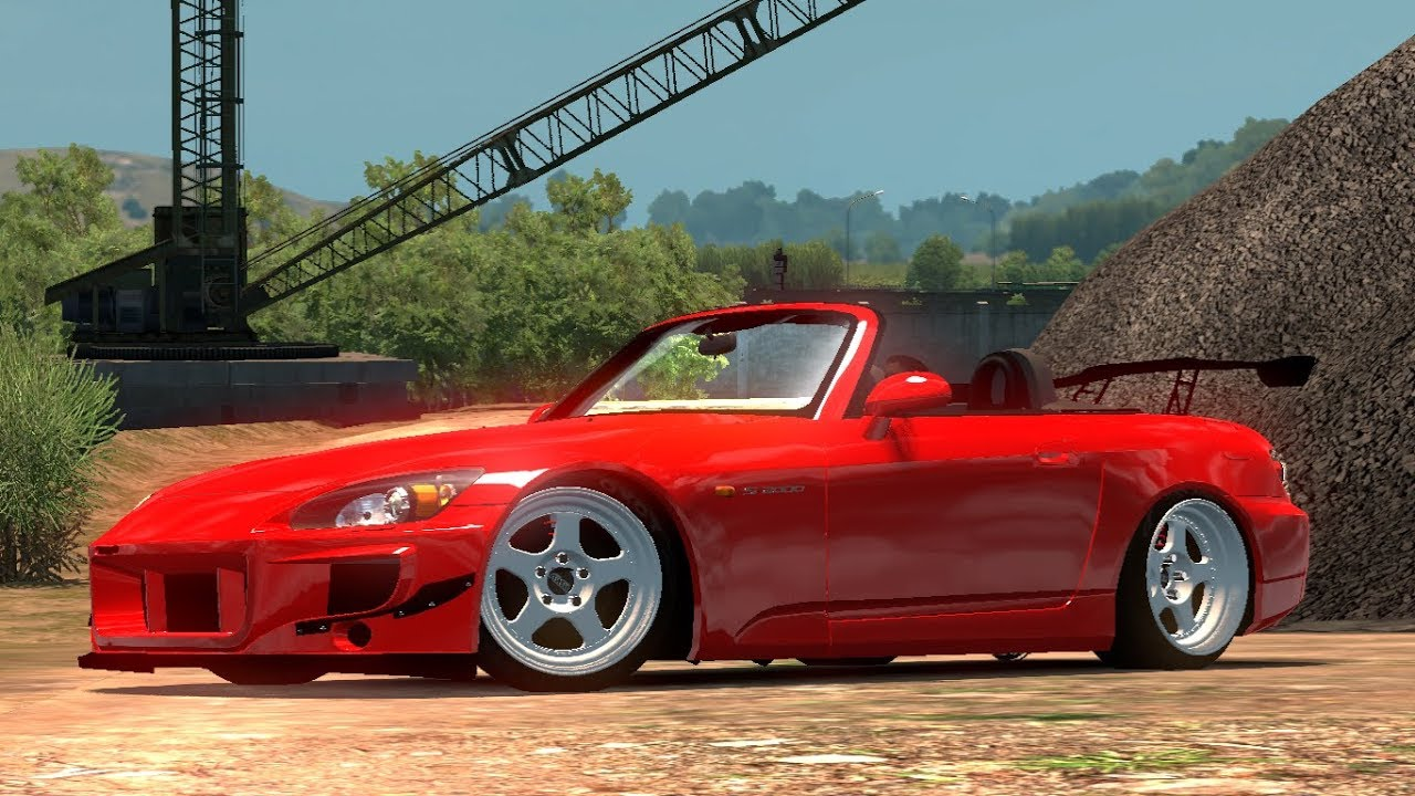 1 30 Euro Truck Simulator 2 Honda S2000 Mods Youtube
