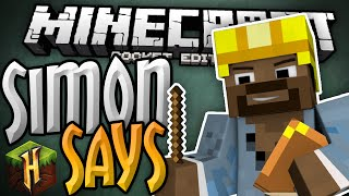 SIMON SAYS for MCPE 0.13.0!!! - Hypixel PE Minigames Server - Minecraft PE (Pocket Edition)