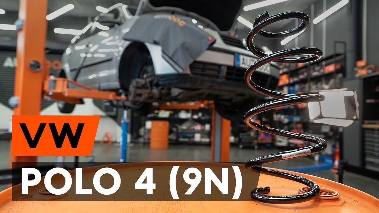 Ressort Valise Cargo VW Polo
