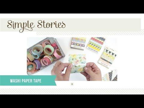 Washi Paper Tape