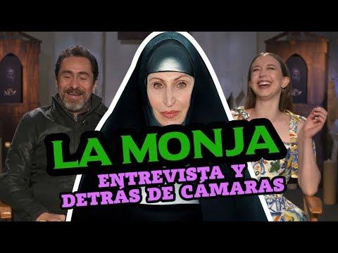 'La Monja': Taissa Farmiga, Demián Bichir y Corin Hardy nos cuentan un poco más del film