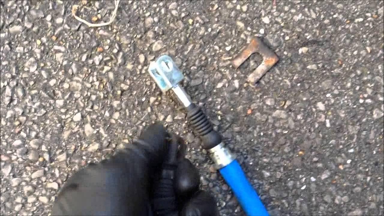Toyota Mr2 Sw20 Seized Handbrake Cable Youtube