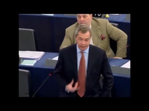 Nigel Farage Blasts MP; A EU Without the Flag, Anthem, Commission and EU Parliament