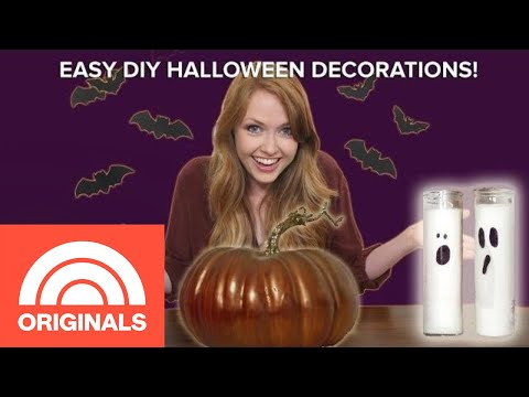 4 Easy DIY Halloween Decorations | Change For A $20 | TODAY